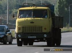 МАЗ 5335 мог похвастаться неплохими для своего времени техническими параметрами
