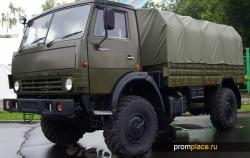 Полноприводный КамАЗ 4350 Мустанг