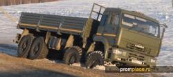 КамАЗ 6350 — уникальные констукторские решения и огромные возможности автомобиля