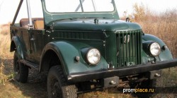 Легендарный ГАЗ 69 занял достойное место в истории советского автомобилестроения