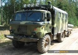 ГАЗ 66 — покорители бездорожья