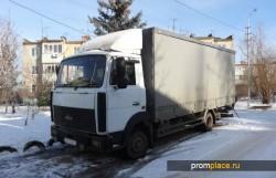 Трудяга МАЗ 437041 используется для перевозки различных грузов