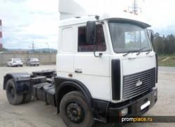 МАЗ 543205 — классический тягач от минских автостроителей