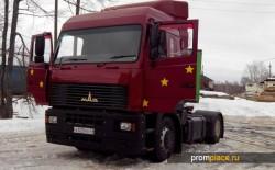 Тягач МАЗ 54408 — основные преимущества магистрального грузовика